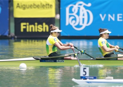 Aldersey and Kehoe win in Aiguebelette - ROWING AUSTRALIA