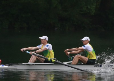 Alister Foot and Darryn Purcell - Copyright Rowing Australia