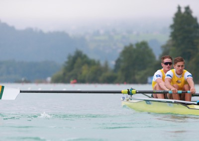 Jack Hargreaves and NIck Wheatley finished second in their quarter-final to make the semis in Aiguebelette